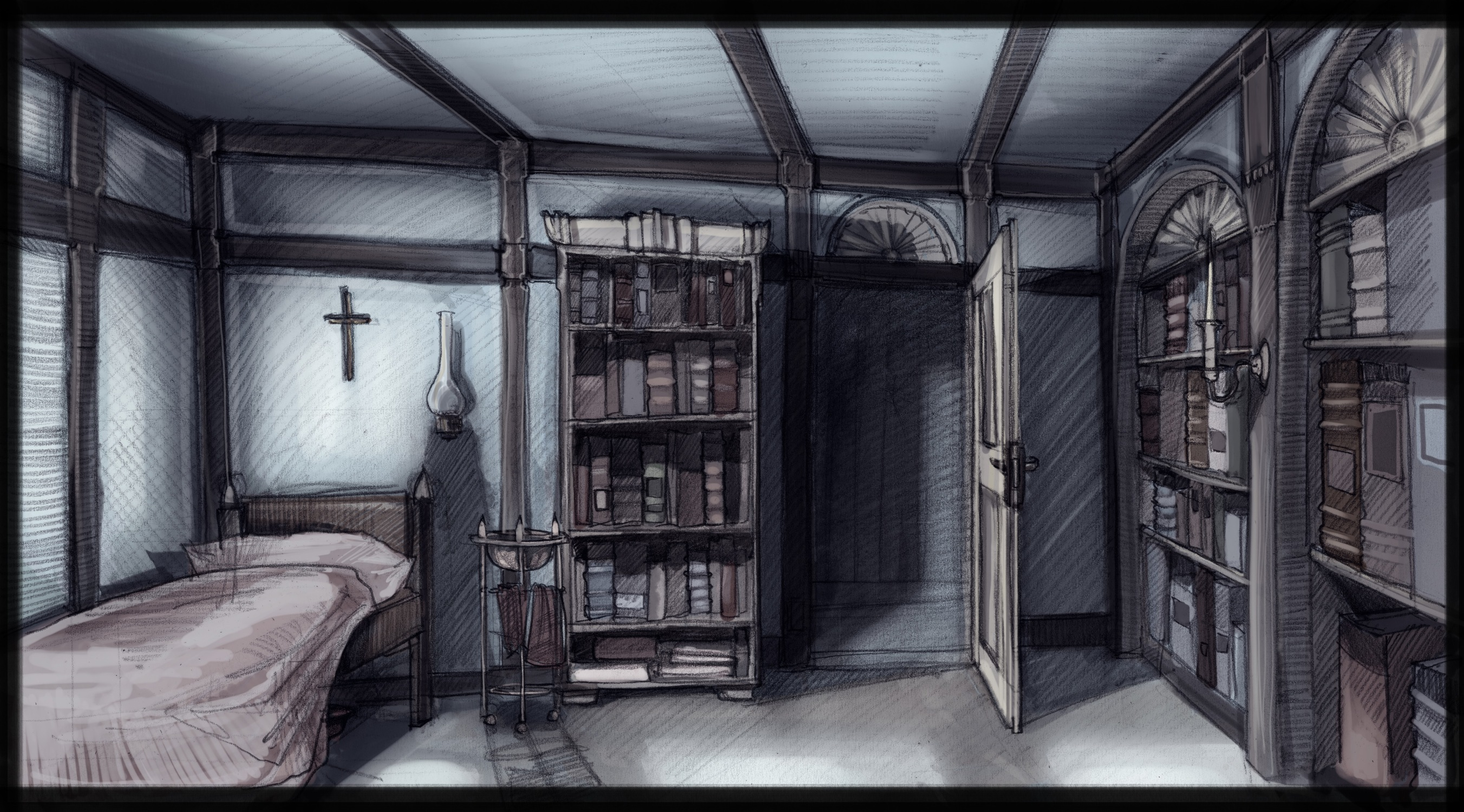 The Shadow - writers bedroom on north